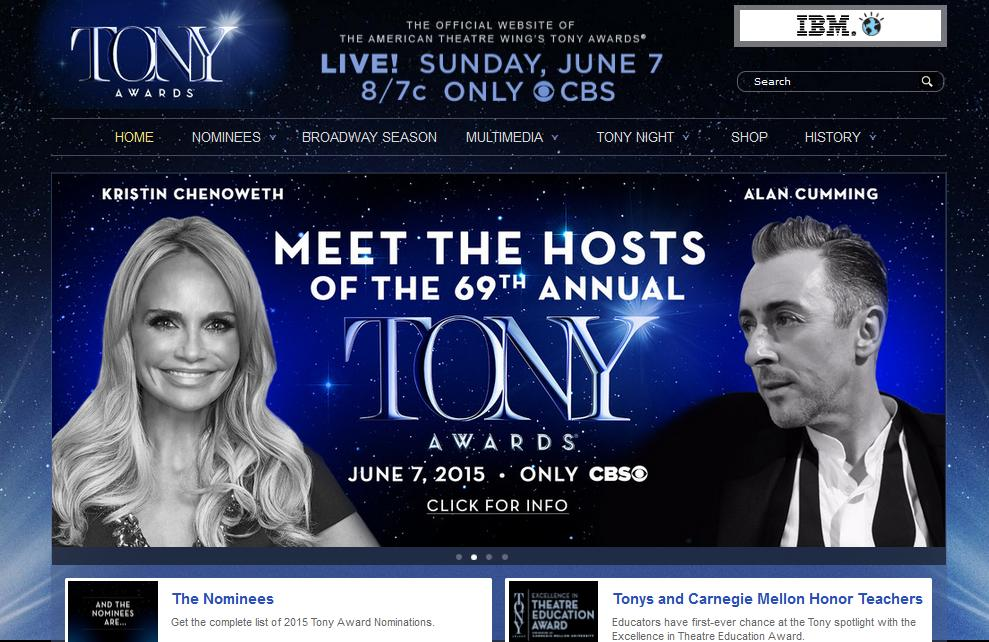 Visit The Tony Awards Official Website