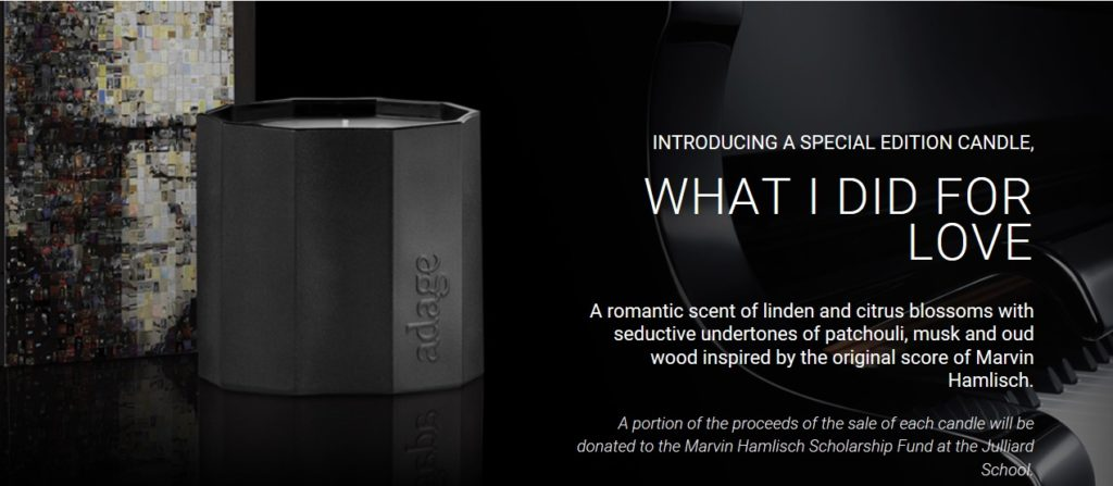 Special Edition Candle: What I Did For Love
