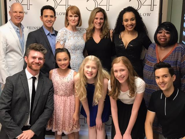 "Thanks to Cast and production team at Feinstein / 54 Below. June 26, 2017: The ""Goodbye Girl Concerts"" - The Music of Marvin Hamlisch with Lyrics by David Zippel."